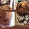 آموزش تخصصی بافت مو ,براشینگ مو و شنیون مو در تهران