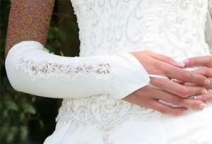 جدیدترین مدل دستکش عروس