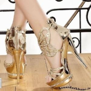 جدیدترین مدل های کیف و کفش عروس