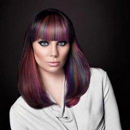 رنگ مو,هایلایت مو,روشن شدن مو,رنگ مو,کرج,تهران,کرج