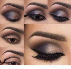 مدل آرایش چشم + عکس