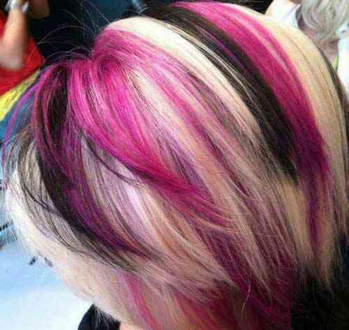 اکستنشن مو,خدمات رنگ و مش,خدمات های لایت