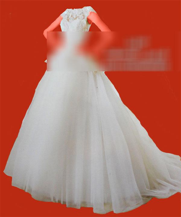 لباس پشت گردنی,مزون لباس عروس