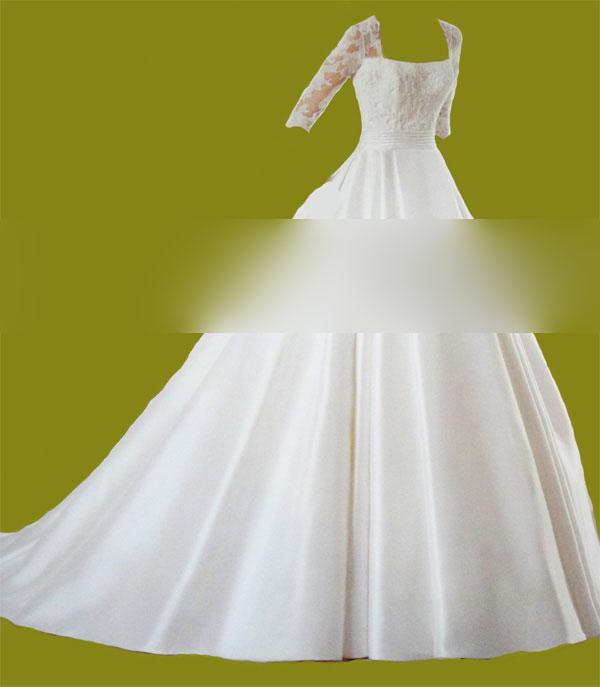مزون عروس در کرج,لباس عروس استین بلند