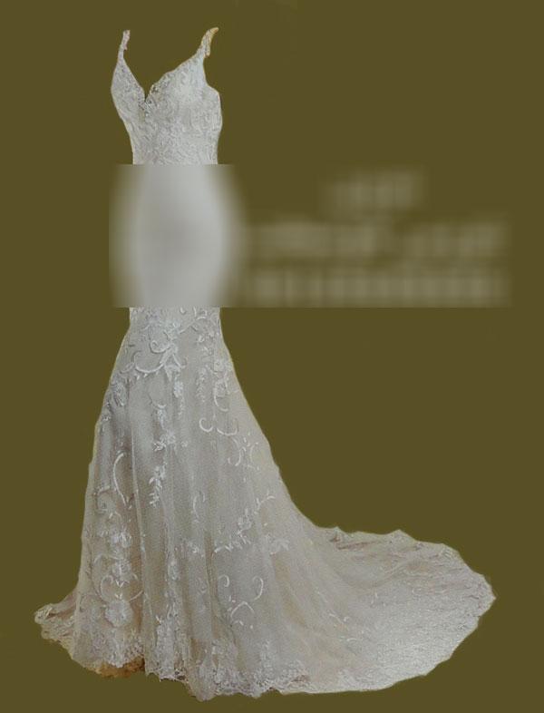 لباس عروس دانتل در کرج