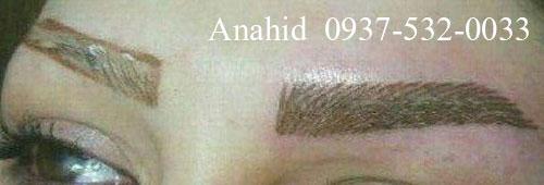 سارا شاملو Hatch eyebrow center in Tehran, Karaj eyebrows Mykrvpygmntyshn (3)