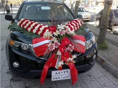 عکس ماشین عروس با کیفیت بالا لیموزین لوکس عکس لباس عروس  و ماشین عروس