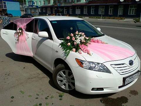 تزیین ماشین عروس با بادکنک پاپیون روبان 206