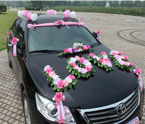 عکس و تصاویر ماشین عروس زیبا و شیک و گالری عکس ماشین عروس ایرانی