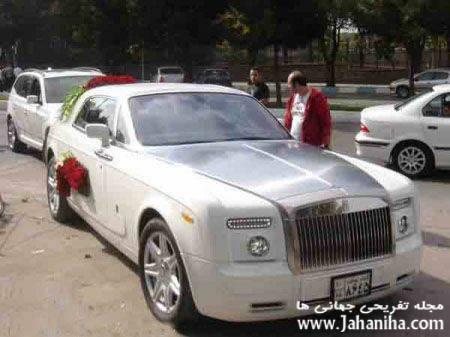 عکس ماشین عروس شیک و زیبا شیکترین ماشین عروس ماشین عروس های شیک زیباترین