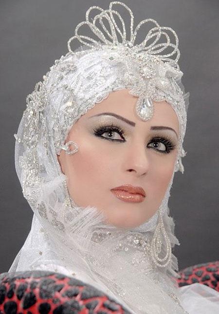 عکس آرایش عروس شنیون ایرانی تهران ومیکاپ نو عروس