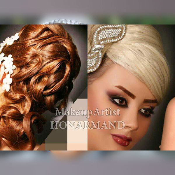 بهترین آرایشگر عروس در تهران,آرایش عروس در تهران