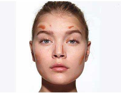 آموزش آرایش صورت تصویری