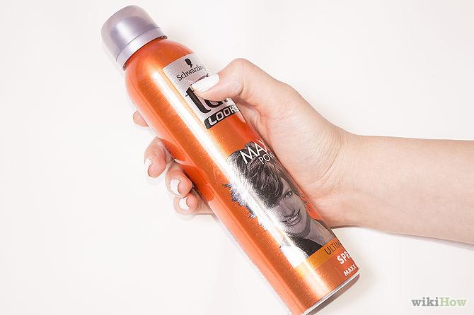 اسپری تافت مو پاک کننده لاک ناخن