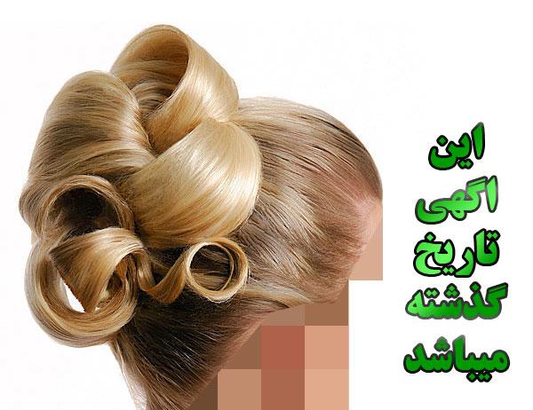 شنیون کار حرفه ای - بافت مو حرفه ای - بافت تخصصی مو  -شنیون عروس - شینیون تخصصی عروس در فردیس کرج
