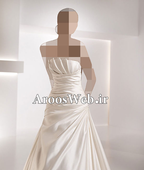 اجاره لباس عروس آستین دار دانتل - لباس عروس جدید و شیک