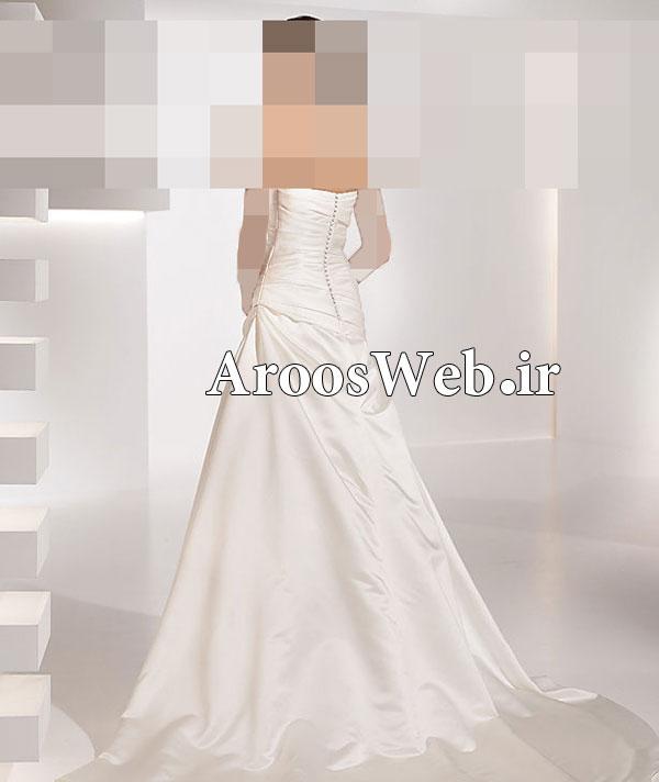 لباس عروس مارک دار - لباس عروس حجاب دار - بهترین مزون لباس عروس تهران