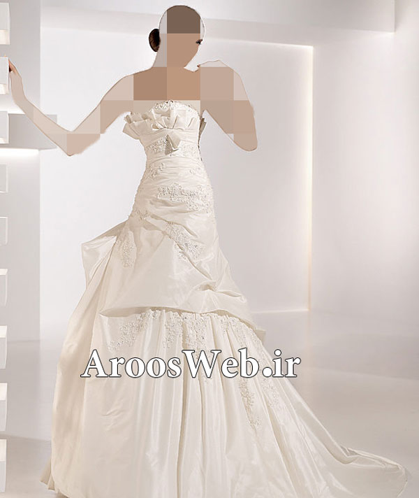 لباس عروس مناسب برای افراد لاغر