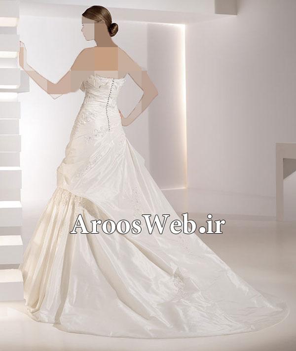 لباس عروس مناسب برای افراد قد کوتاه