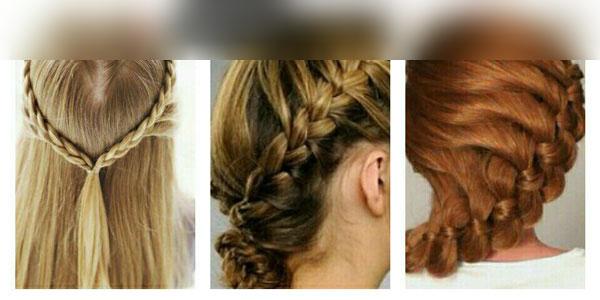 بافت مو در متد های مختلف