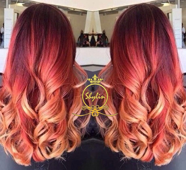 آرایشگاه رنگ مو محدوده فرمانیه